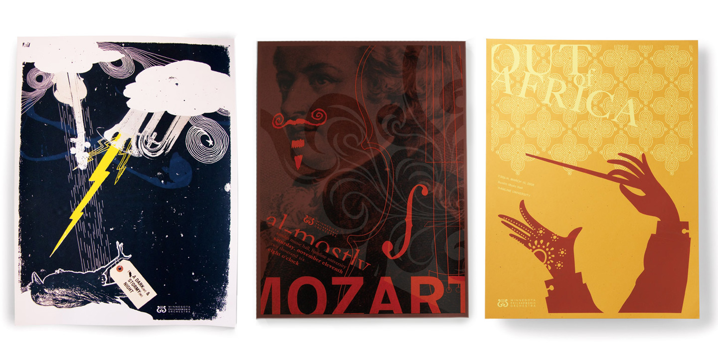 Minnesota Philharmonic Orchestra Mozart and Out of Africa Posters