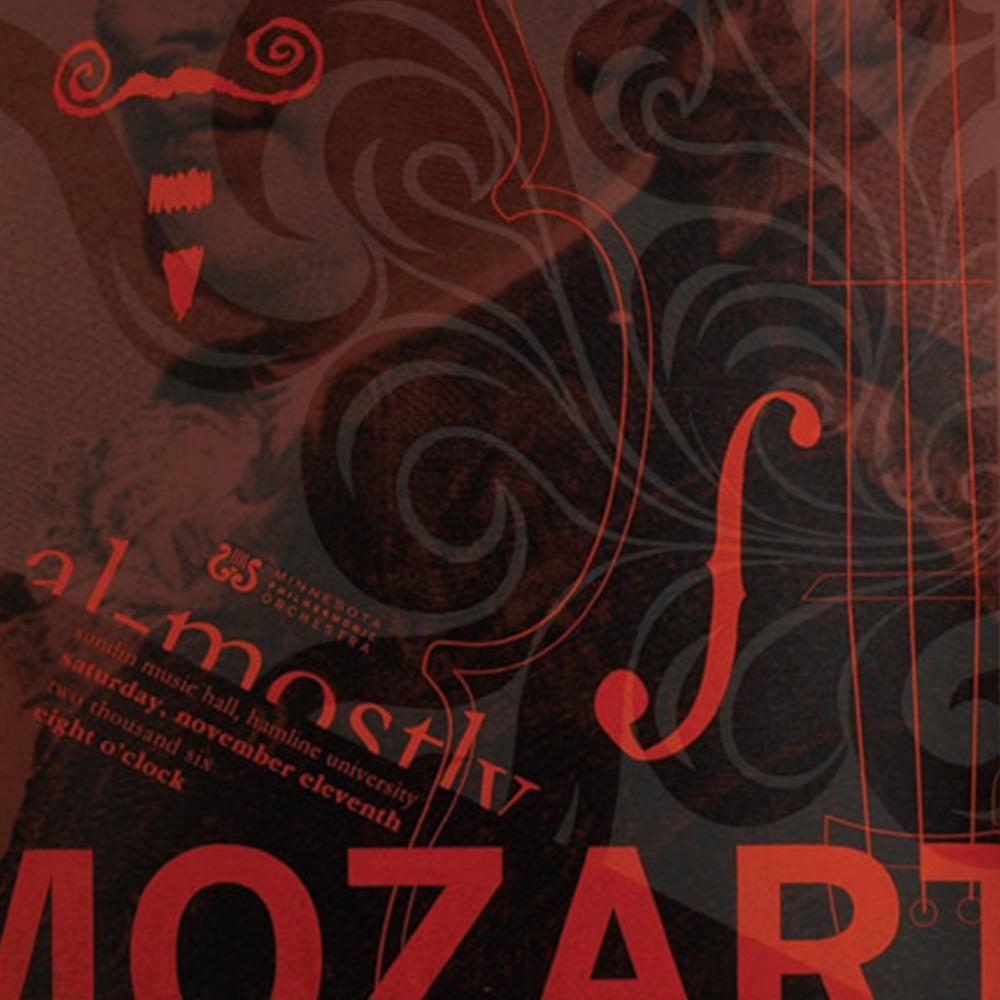 Lock up of Minnesota Philharmonic Orchestra Mozart Concert Series