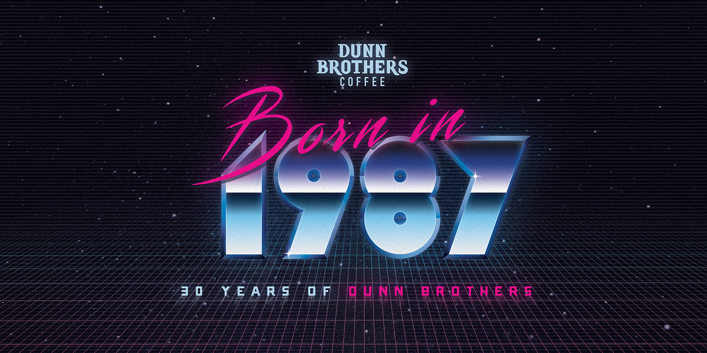 Dunn Brothers Coffee 1987 Design