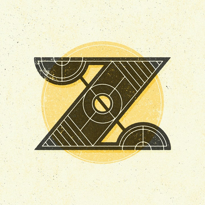 graphic letter Z