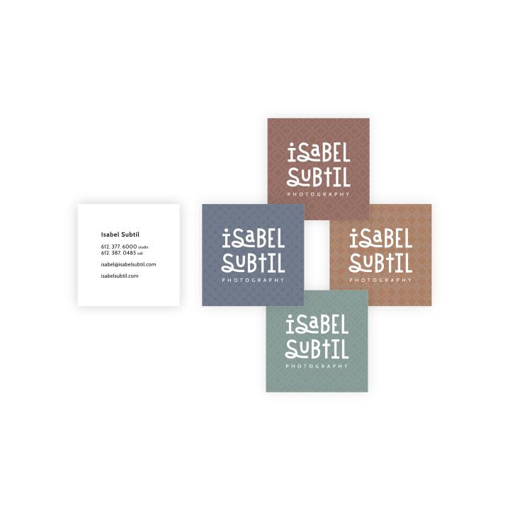 Isabel Subtil Photography Business Card