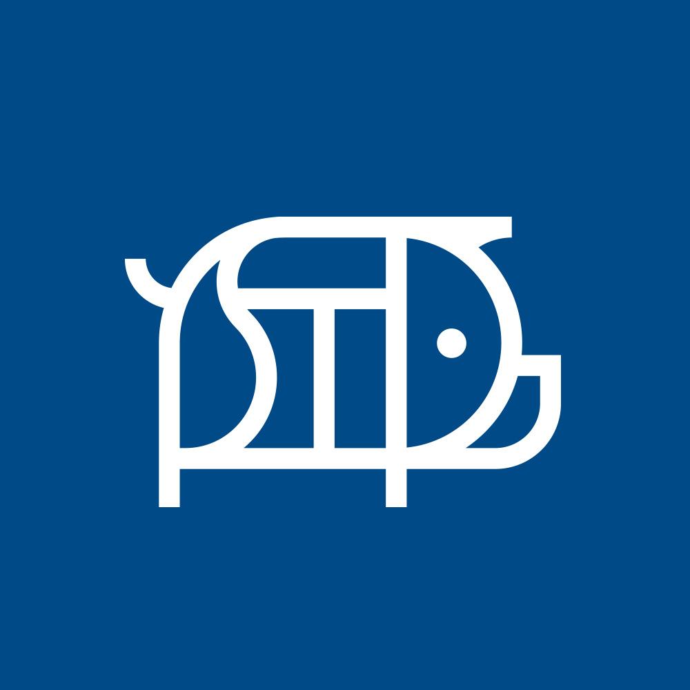 St. Paul Saints Pig's Eye Identity Logo