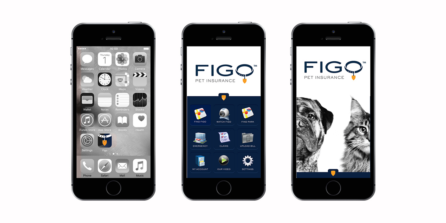 FIGO Pet Insurance App Graphic