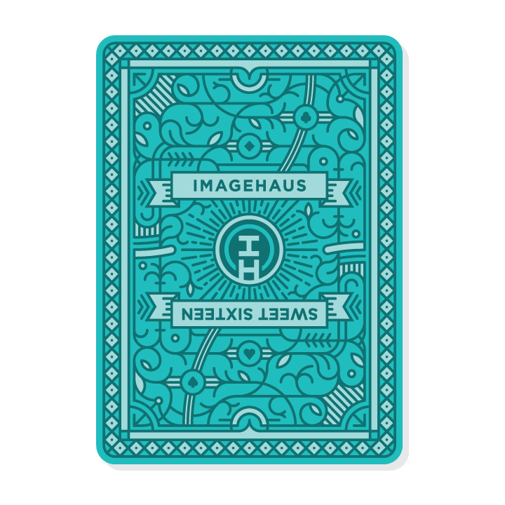 IMAGEHAUS Playing Card Front Side Design