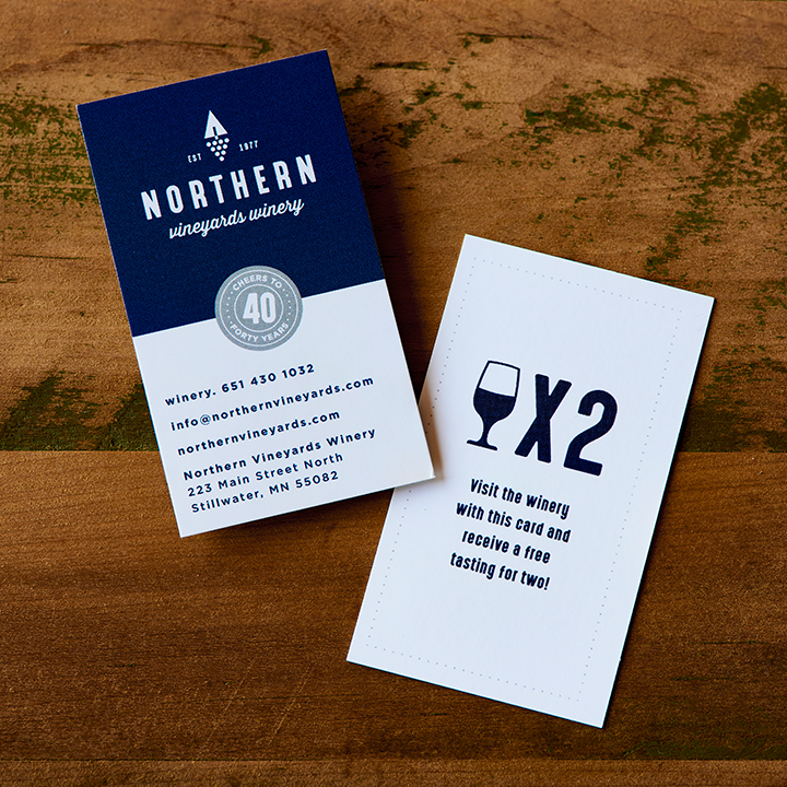 Northern Vineyard's Winery Promotional Materials